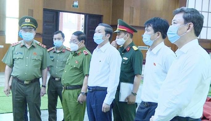 Công tác chuẩn bị Lễ viếng nguyên Tổng Bí thư Lê Khả Phiêu tại quê nhà Thanh Hóa - Ảnh 1.