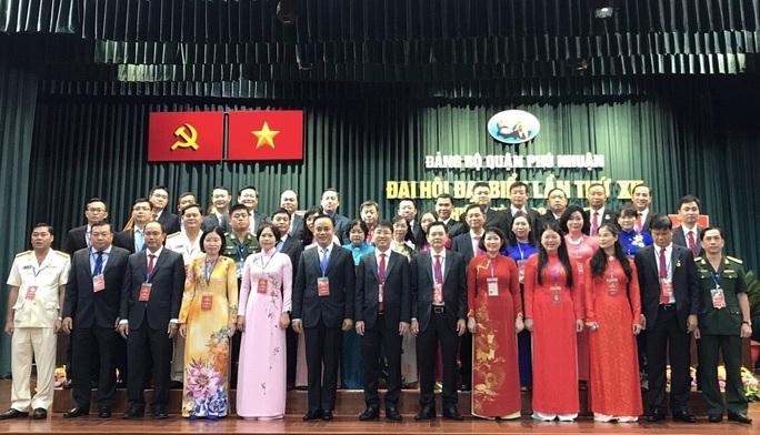 Ông Phạm Hồng Sơn tái đắc cử Bí thư Quận ủy Phú Nhuận - Ảnh 1.