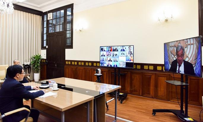 Phó Thủ tướng dự thảo luận Hội đồng Bảo an LHQ về Covid-19 và hòa bình - Ảnh 2.