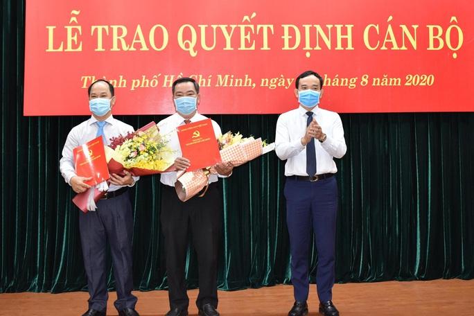 Thành ủy TP HCM điều động và chỉ định 2 lãnh đạo cấp quận - Ảnh 1.