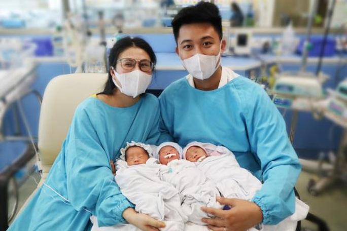 Hiếm gặp, người mẹ trẻ sinh một lần gồm 2 trai, 1 gái - Ảnh 2.