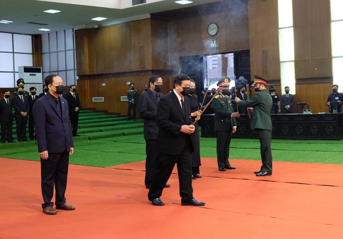 Hình ảnh Lễ viếng nguyên Tổng Bí thư Lê Khả Phiêu tại quê nhà - Ảnh 6.