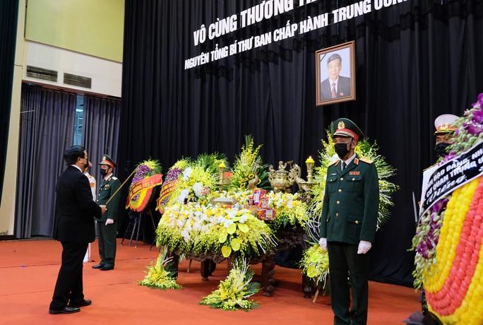 Hình ảnh Lễ viếng nguyên Tổng Bí thư Lê Khả Phiêu tại quê nhà - Ảnh 7.