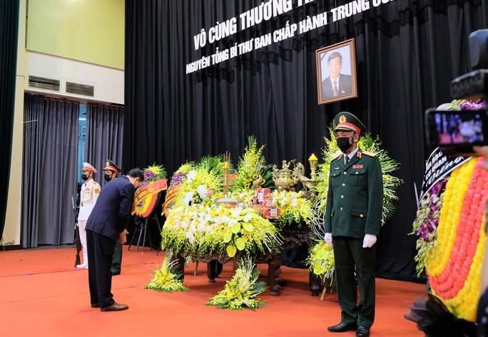 Hình ảnh Lễ viếng nguyên Tổng Bí thư Lê Khả Phiêu tại quê nhà - Ảnh 11.