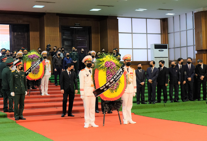 Hình ảnh Lễ viếng nguyên Tổng Bí thư Lê Khả Phiêu tại quê nhà - Ảnh 10.