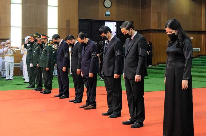 Hình ảnh Lễ viếng nguyên Tổng Bí thư Lê Khả Phiêu tại quê nhà - Ảnh 12.