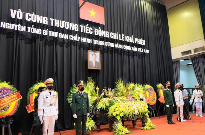 Hình ảnh Lễ viếng nguyên Tổng Bí thư Lê Khả Phiêu tại quê nhà - Ảnh 1.