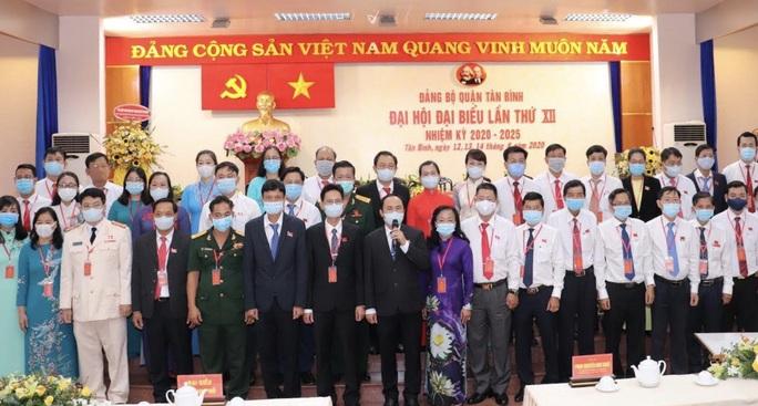 Ông Lê Hoàng Hà tái đắc cử Bí thư Quận ủy quận Tân Bình - Ảnh 1.