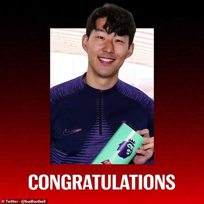 Siêu phẩm bàn thắng của Son Heung-min đẹp nhất mùa Ngoại hạng Anh - Ảnh 4.