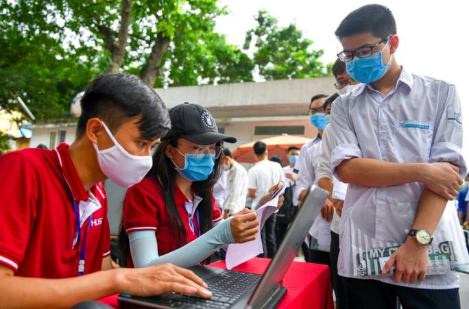 Hơn 5.600 thí sinh làm bài kiểm tra tư duy dài 21 trang vào Trường ĐH Bách khoa Hà Nội - Ảnh 2.