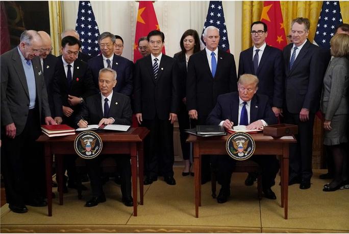 Quan hệ Mỹ - Trung bám víu vào thương mại - Ảnh 1.