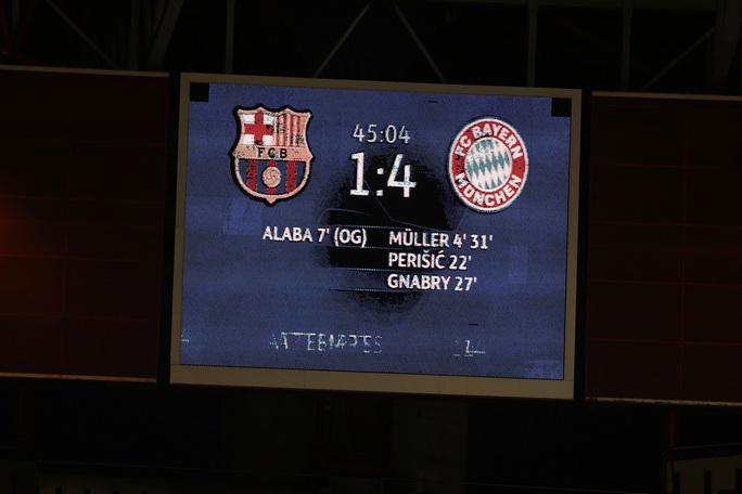 Đêm Lisbon kinh hoàng, Barcelona đại bại 2-8 trước Bayern Munich - Ảnh 4.