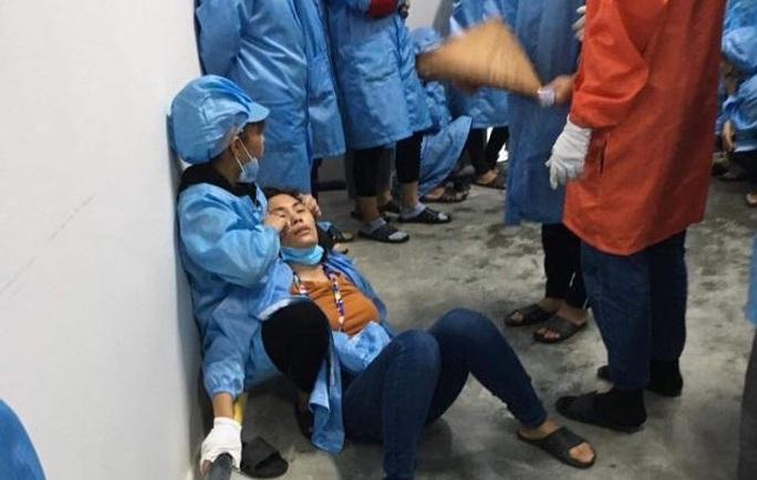 Công an điều tra vụ nhiều công nhân Công ty kỹ thuật điện tử Tonly Việt Nam bị ngất - Ảnh 1.