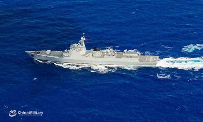 Trung Quốc gia tăng tập trận quanh Đài Loan, nhắm đến cả đảo Guam - Ảnh 1.