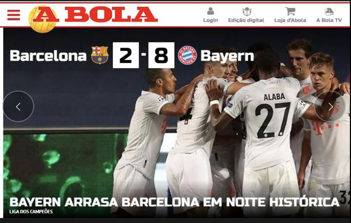 Báo chí Tây Ban Nha và châu Âu chê cười nỗi ô nhục Barcelona - Ảnh 9.