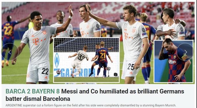 Báo chí Tây Ban Nha và châu Âu chê cười nỗi ô nhục Barcelona - Ảnh 11.