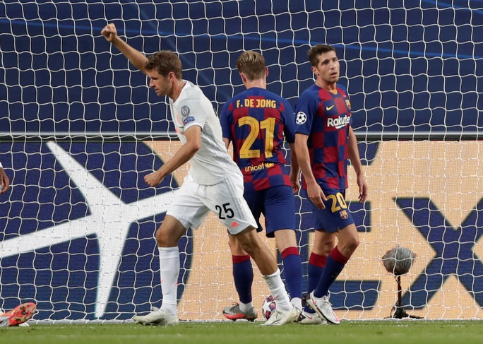 Đêm Lisbon kinh hoàng, Barcelona đại bại 2-8 trước Bayern Munich - Ảnh 2.