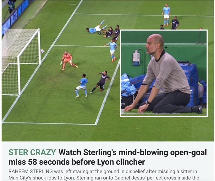 Truyền thông xứ Lục lăng mơ chung kết toàn Pháp, báo Anh giễu Sterling - Ảnh 7.