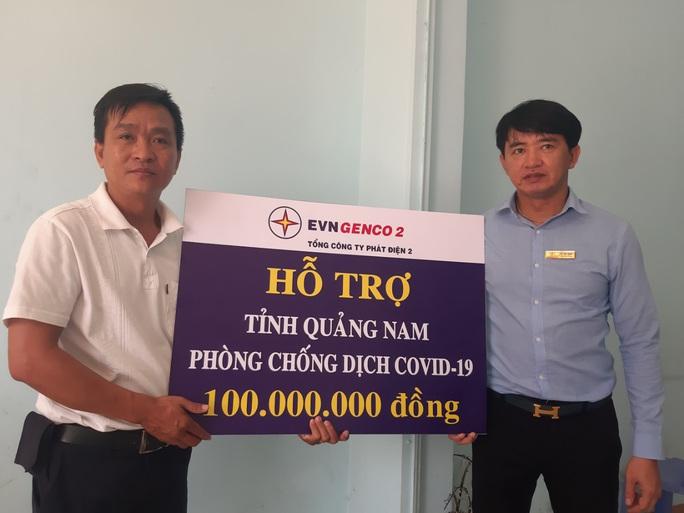 Thông qua Báo Người Lao Động, EVNGENCO 2 hỗ trợ Quảng Nam 100 triệu đồng phòng chống dịch Covid-19 - Ảnh 1.