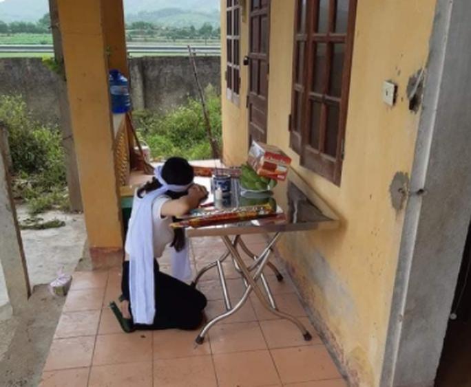 Từ tâm dịch Đà Nẵng về chịu tang mẹ, cô gái 20 tuổi tự nguyện vào khu cách ly - Ảnh 1.