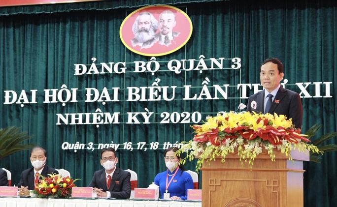 Ông Trần Lưu Quang đề nghị quận 3 tập trung ngay nhiều đầu việc - Ảnh 1.