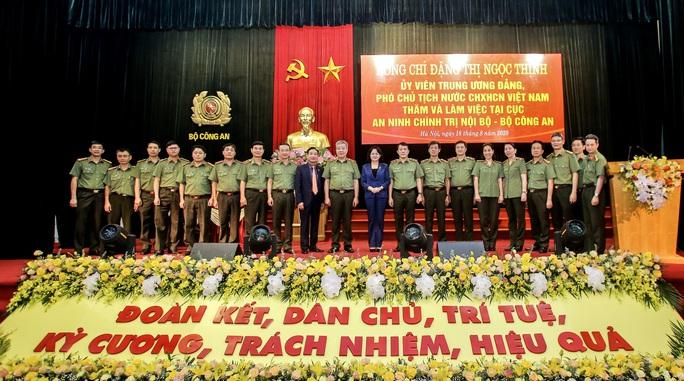 Phó Chủ tịch nước biểu dương những chiến công xuất sắc của Cục An ninh chính trị nội bộ - Ảnh 5.