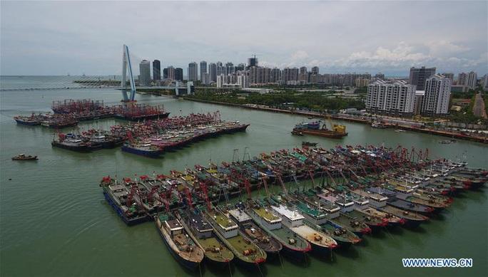 Trung Quốc hứng bão Higos, sông Dương Tử chịu trận - Ảnh 2.