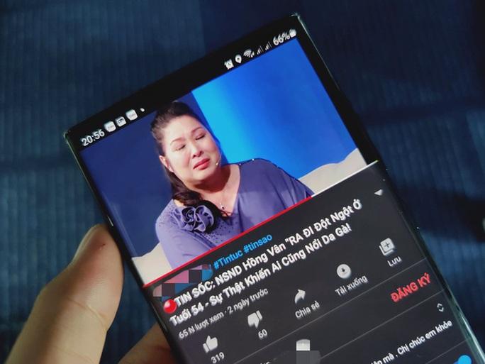 NSND Hồng Vân xem xét kiện kênh YouTube đưa tin chị đột quỵ, qua đời - Ảnh 1.