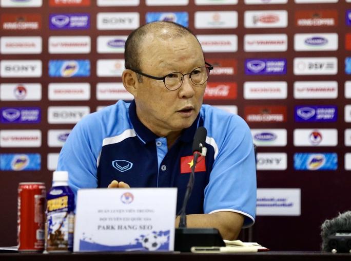 HLV Park Hang-seo: Dồn toàn lực để lọt vào vòng loại cuối World Cup - Ảnh 1.