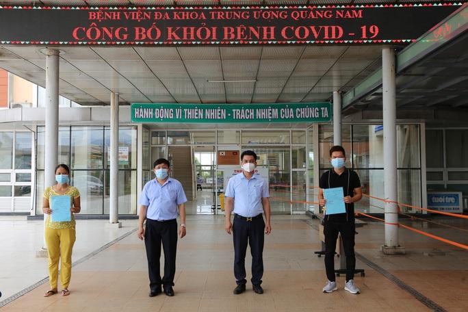 Thêm 11 người mắc Covid-19 ở Quảng Nam được xuất viện - Ảnh 1.