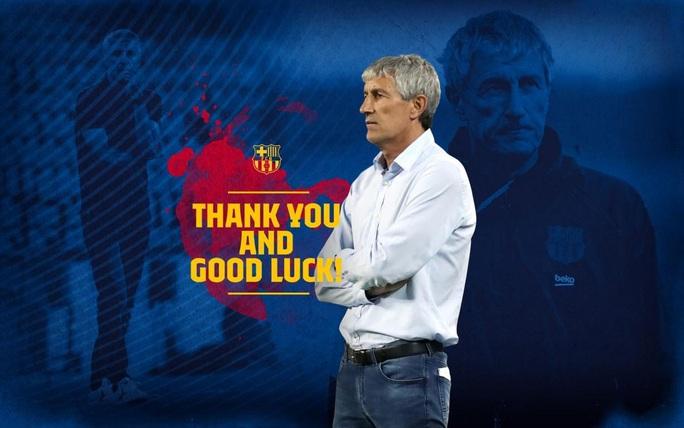 Barcelona chính thức sa thải HLV Setien, chờ bổ nhiệm cố nhân Ronald Koeman - Ảnh 1.
