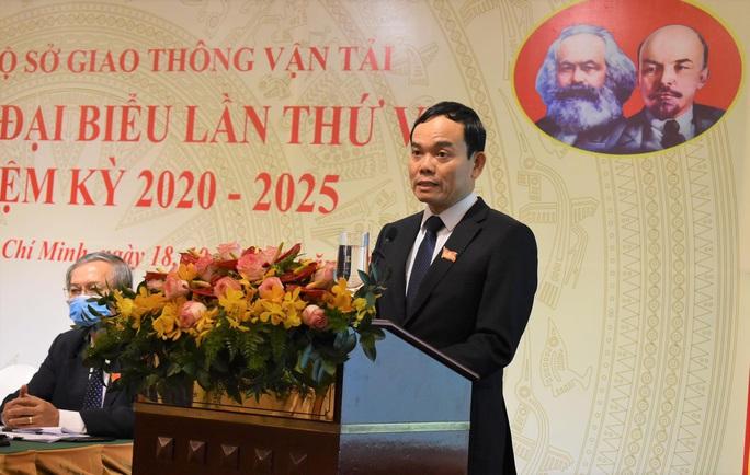 Ông Trần Quang Lâm tái đắc cử Bí thư Đảng ủy Sở GTVT TP HCM - Ảnh 1.