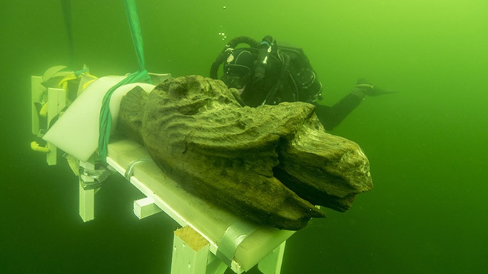 Bí ẩn thủy quái trong tàu ma hoàng gia mất tích 5 thế kỷ - Ảnh 1.