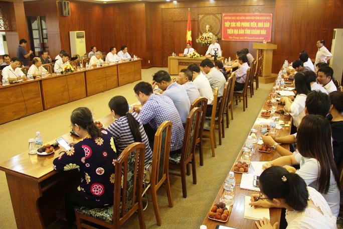 Khánh Hòa: Thi hành kỷ luật hàng loạt lãnh đạo sở, ngành - Ảnh 4.