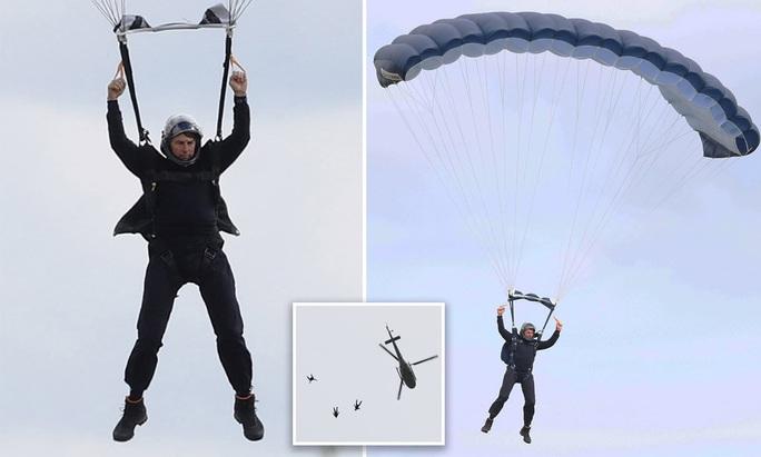"""Tom Cruise lại mạo hiểm với """"Nhiệm vụ bất khả thi 7"""" - Ảnh 1."""