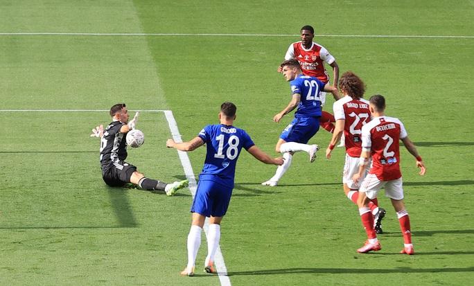Người hùng Aubameyang rực sáng, Arsenal lên ngôi vô địch FA Cup - Ảnh 2.