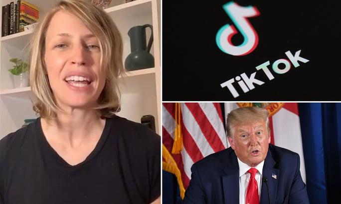 Tổng thống Trump dọa đuổi, TikTok không đi đâu cả - Ảnh 1.