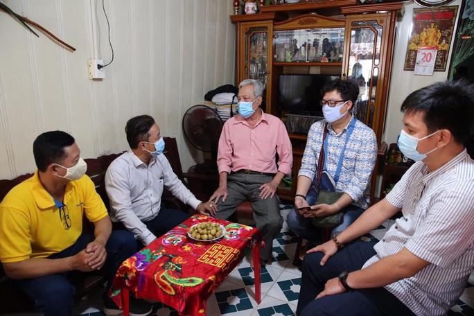 Mai Vàng nhân ái thăm NSƯT Phương Tùng - Ảnh 2.