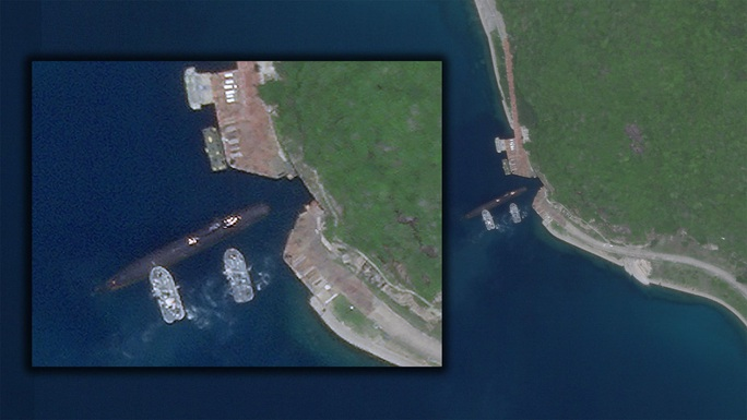 Tàu ngầm hạt nhân Trung Quốc tiến vào căn cứ bí hiểm ở đảo Hải Nam - Ảnh 1.