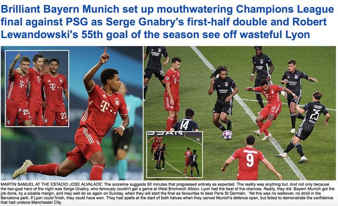 Bayern Munich giành vé chung kết, báo chí vạch điểm yếu chí tử - Ảnh 7.