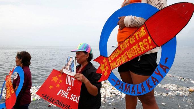 Philippines lại gửi công hàm phản đối Trung Quốc ở biển Đông - Ảnh 1.