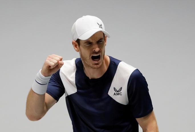 Andy Murray trở lại đấu trường đỉnh cao - Ảnh 1.