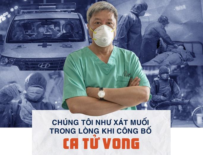Thứ trưởng Bộ Y tế Nguyễn Trường Sơn: Chúng tôi như xát muối trong lòng khi công bố ca tử vong - Ảnh 1.