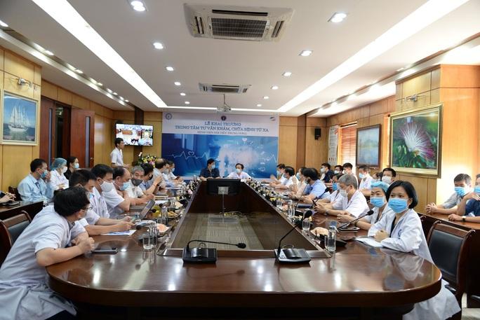 Bệnh viện Nội tiết Trung ương thực hiện khám chữa bệnh từ xa - Ảnh 2.