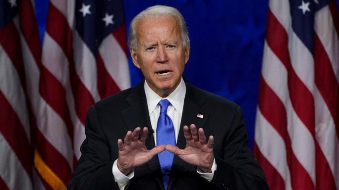 """Ứng viên tổng thống Joe Biden cam kết """"đổi màu"""" kỷ nguyên ông Trump - Ảnh 1."""