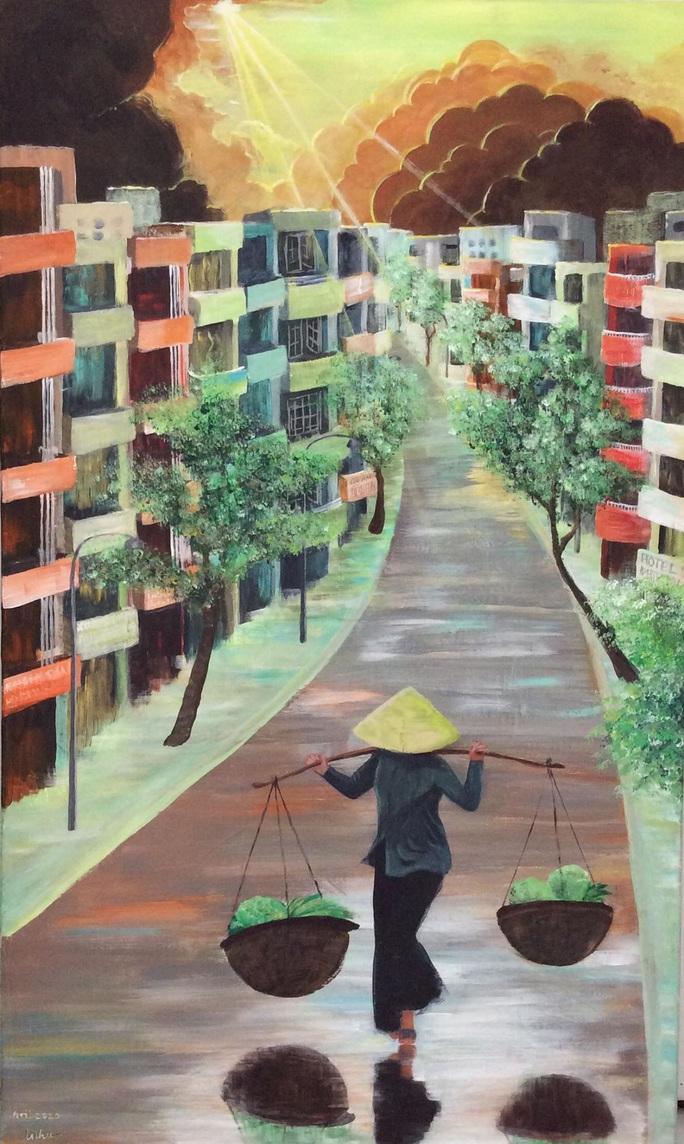 Ca sĩ Lệ Thu Nguyễn triển lãm ảnh mùa Covid -19 tại Paris - Ảnh 4.