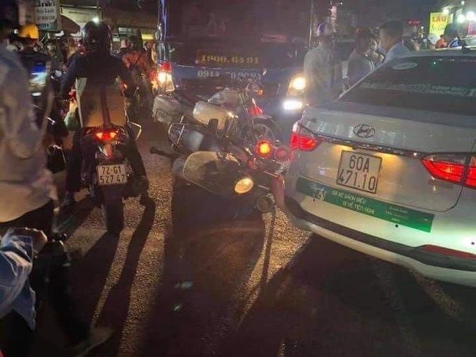 Đồng Nai: Kẻ nghi ngáo đá trộm xe ô tô, tông xe cảnh sát khai gì? - Ảnh 3.