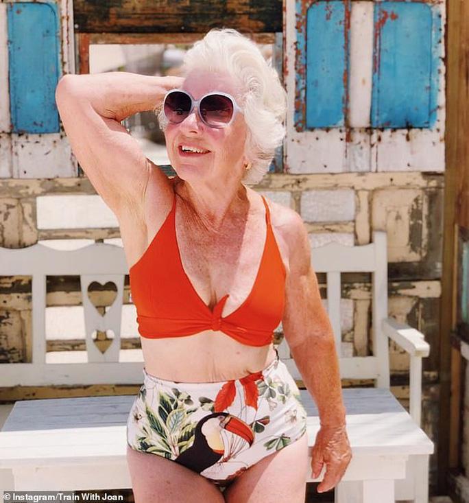 Choáng với bà ngoại cơ bắp - người mẫu thể hình tuổi 74 - Ảnh 8.