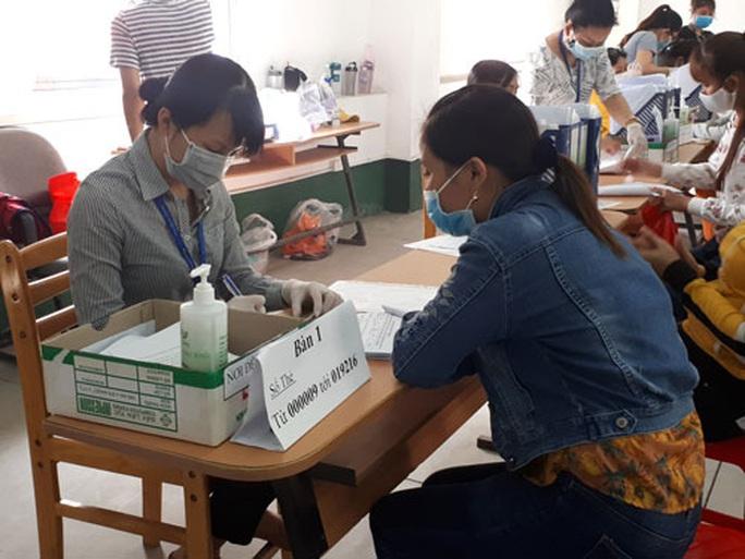 Công ty TNHH Pou Yuen Việt Nam trả sổ BHXH cho công nhân - Ảnh 1.