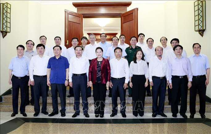 Bộ Chính trị làm việc với 11 đảng bộ trực thuộc Trung ương - Ảnh 2.